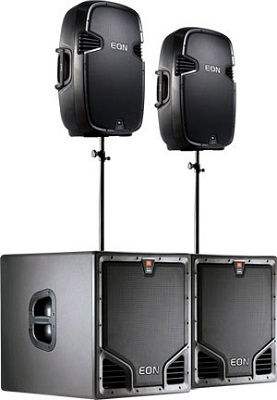 Full range sound system