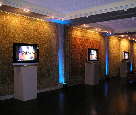 LCD TVs on Stands